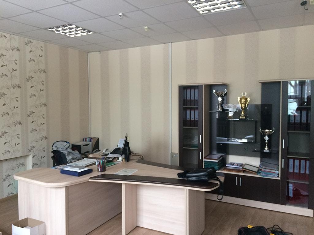 Ремонт кабинета в офисе 165